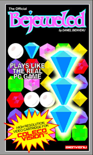 Bejeweled for Colecovision Box Art