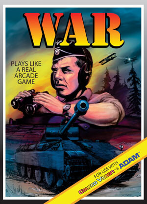 War for Colecovision Box Art
