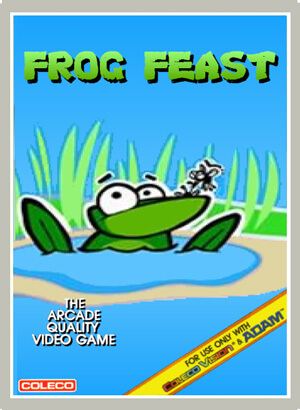 Frog Feast for Colecovision Box Art
