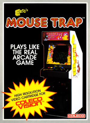 Mouse Trap for Colecovision Box Art