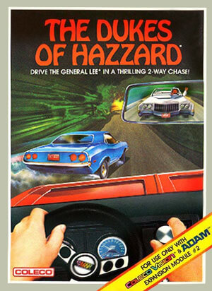 Dukes of Hazzard, The for Colecovision Box Art
