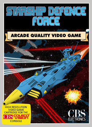 StarShip Defence Force for Colecovision Box Art