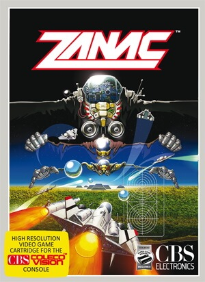 Zanac for Colecovision Box Art
