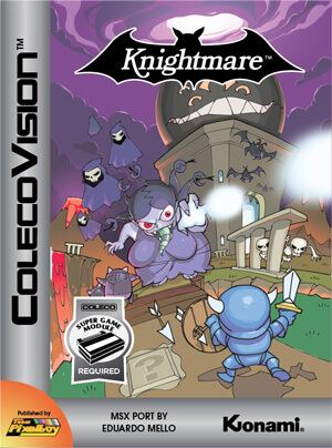 Knightmare for Colecovision Box Art