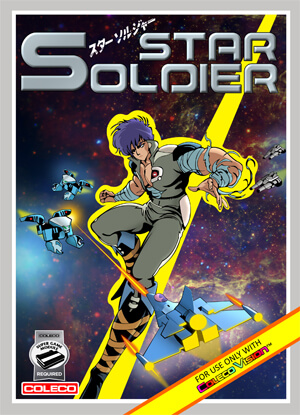 Star Soldier for Colecovision Box Art