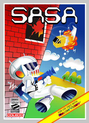 Sasa for Colecovision Box Art