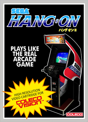 Hang-On for Colecovision Box Art