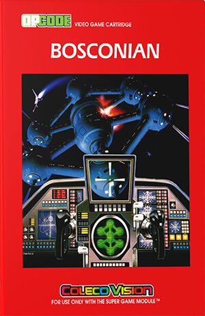Bosconian for Colecovision Box Art