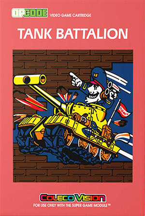 Tank Battalion for Colecovision Box Art