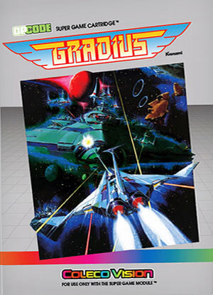 Gradius by Opcode Games - ColecoVision Addict com
