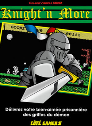 Knight'n More for Colecovision Box Art