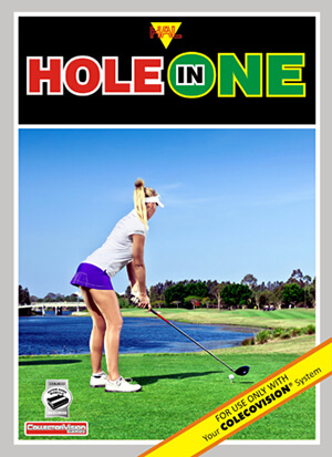 Hole In One for Colecovision Box Art