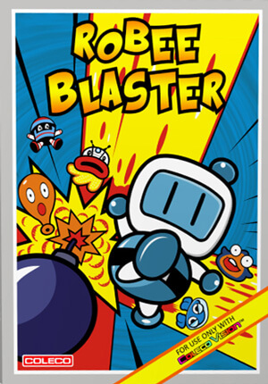 Robee Blaster for Colecovision Box Art