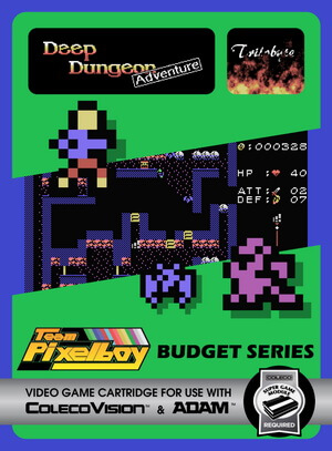 Deep Dungeon Adventure for Colecovision Box Art