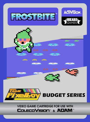 Frostbite for Colecovision Box Art