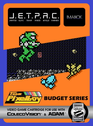 for Colecovision Box Art