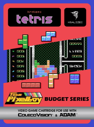 Kralizec Tetris for Colecovision Box Art