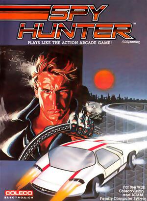 Spy Hunter for Colecovision Box Art