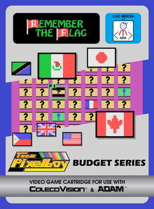 Remember The Flag for Colecovision Box Art
