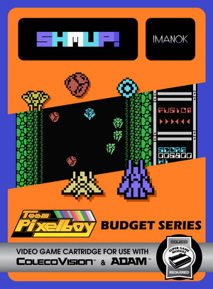 Shmup! for Colecovision Box Art