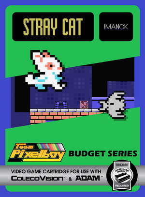 Stray Cat for Colecovision Box Art