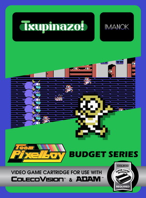 Txupinazo! for Colecovision Box Art