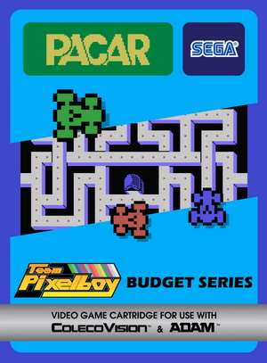 Pacar for Colecovision Box Art