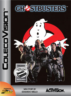 Ghostbusters for Colecovision Box Art