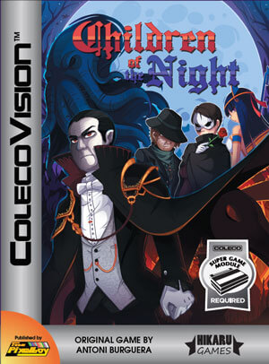 Children of the Night for Colecovision Box Art