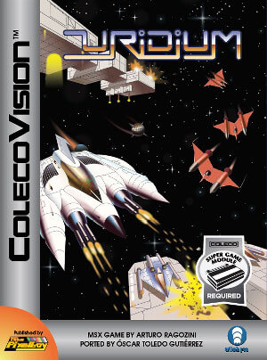Uridium for Colecovision Box Art