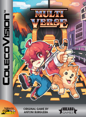 Multiverse for Colecovision Box Art