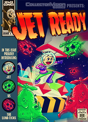 Jet Ready for Colecovision Box Art