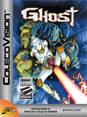 Ghost for Colecovision Box Art