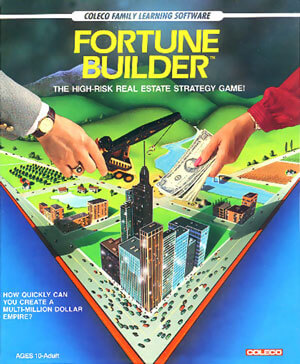 Fortune Builder for Colecovision Box Art