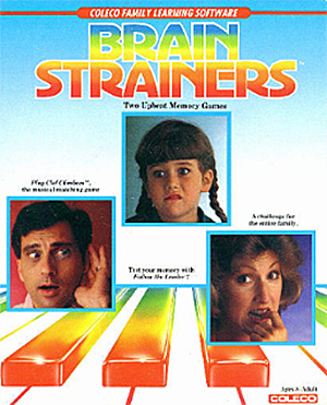 Brain Strainers for Colecovision Box Art