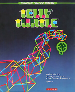 Telly Turtle for Colecovision Box Art