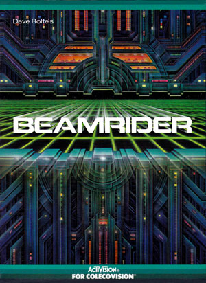 Beamrider for Colecovision Box Art