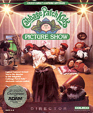 Cabbage Patch Kids Picture Show for Colecovision Box Art