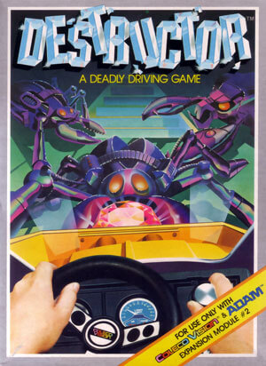 Destructor for Colecovision Box Art