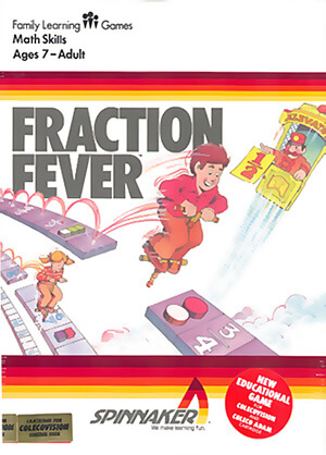 Fraction Fever for Colecovision Box Art