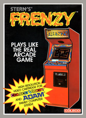 Frenzy for Colecovision Box Art