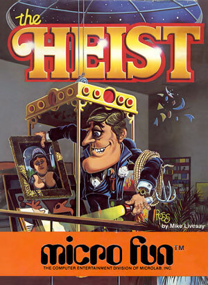 Heist, The for Colecovision Box Art