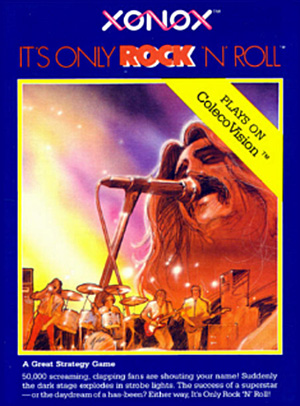 It's Only Rock'n Roll for Colecovision Box Art