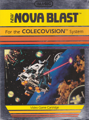 Nova Blast for Colecovision Box Art