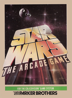 Star Wars: The Arcade Game for Colecovision Box Art