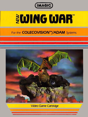 Wing War for Colecovision Box Art