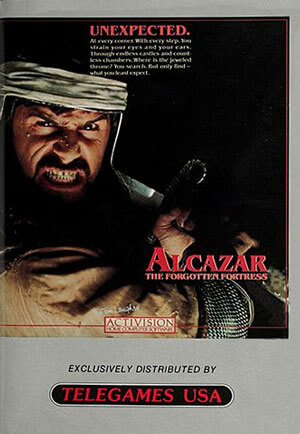 Alcazar: The Forgotten Fortress for Colecovision Box Art