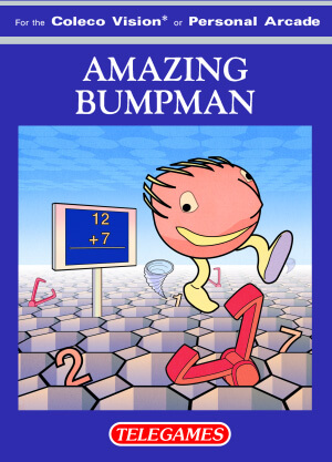 Amazing Bumpman for Colecovision Box Art