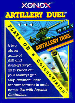 Artillery Duel for Colecovision Box Art