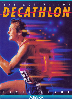 Decathlon, The Activision for Colecovision Box Art